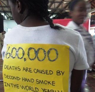 Kick Butts Day in Jamaica, 2012.