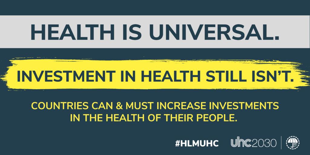 Health is universal