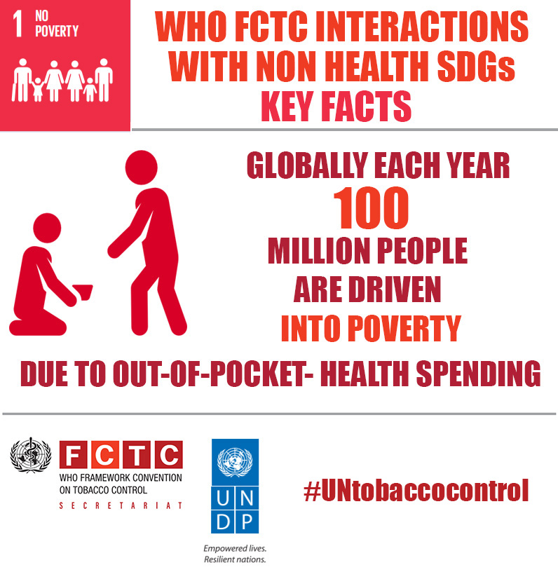 FCTC Interactions with non health SDGs - Key facts